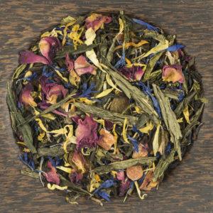 Чай зеленый с черным ароматизированный